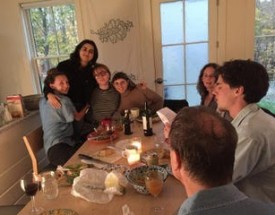 Family around the table